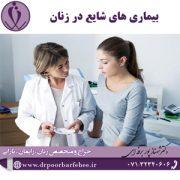 بیماری های شایع در زنان